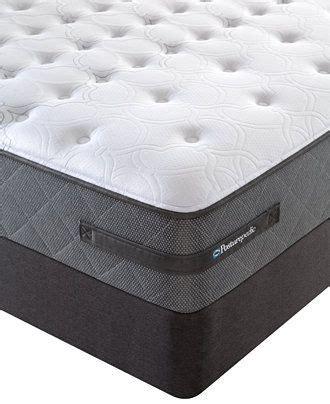 sealy posturepedic grant park cushion firm tight top queen split mattress set queen mattresses