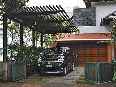 desain garasi mobil rumah sederhana 10 gambar garasi mobil rumah sederhana contoh desain