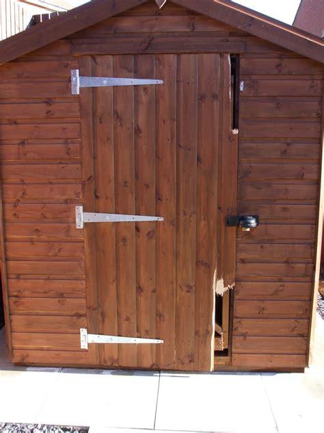 burglars beaten  beast sheds heavy duty security garden