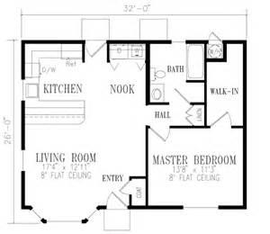 One Bedroom One Bath House Plans House 14231 Blueprint Details Floor Plans