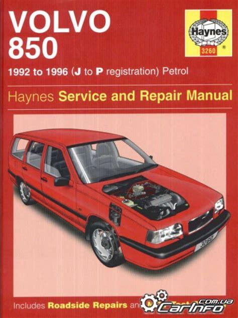 free auto repair manuals 1997 volvo 850 on board diagnostic system volvo 850 1992 to 1996haynes service and repair manual 187 автолитература руководства по ремонту
