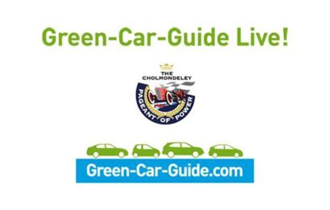 Green Car Guide Launched by Trident Iceni Launches At Pageant Of Power