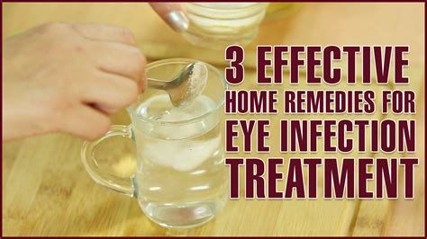 3 easy effective home remedies for eye infection