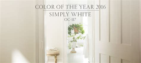 color of the year 2016 simply white setting for four simply white benjamin moore color of the year 2016