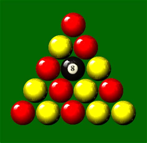 How To Rack Pool Balls For 8 Picture by Pool League