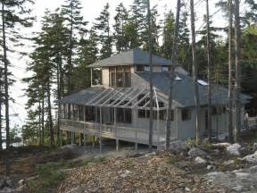 Hillside Cabin Plans by Architect Llc Hillside House