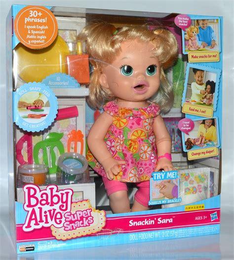 Boneka Baby Alive Snack Snackin Noodles Doll hasbro baby alive snacks snackin speak and ebay