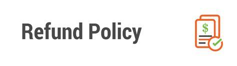 refund policy ssl refund request