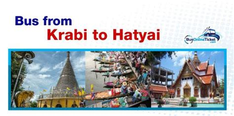 hat yai new year 2015 krabi to hat yai buses from thb 400 busonlineticket co th