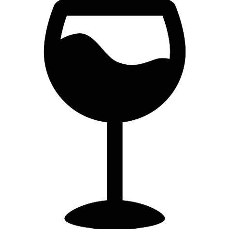 glass svg oversized wine glass free food icons