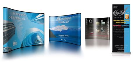 design large banner exhibition stands large format printing printers