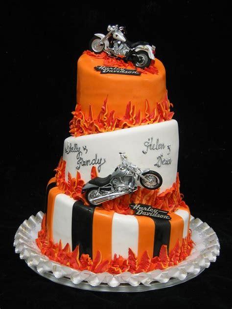 harley davidson decorating ideas harley davidson themed wedding cake theme s