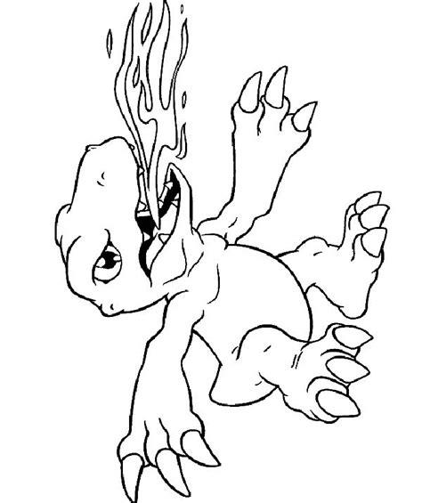 Digimon Color Pages Az Coloring Pages Digimon Coloring Pages