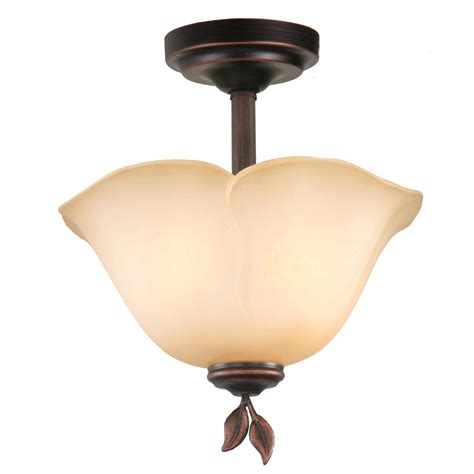 Allen Roth Ceiling Lights by Shop Allen Roth Eastview 12 87 In W Rubbed