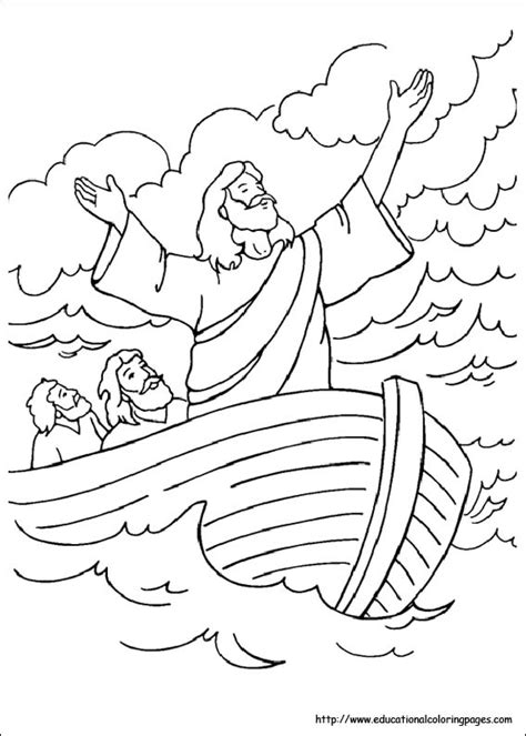 bible story free coloring pages
