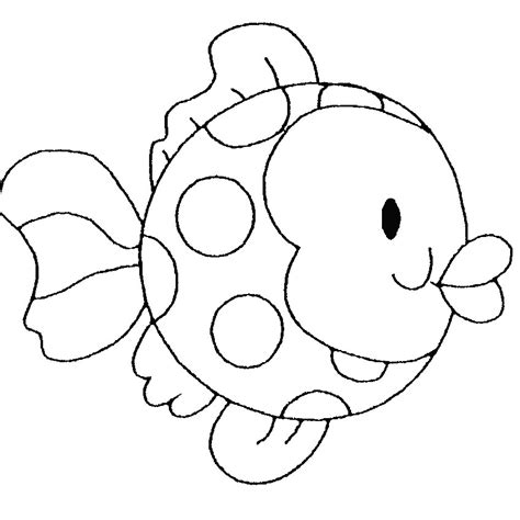 coloring pages of fish for kids coloring home