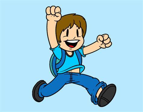 imagenes alegres para dibujar desenho de menino alegre pintado e colorido por duda bonan