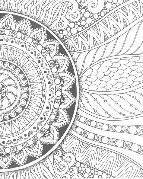 zendoodle coloring pages easy image gallery easy zendoodles