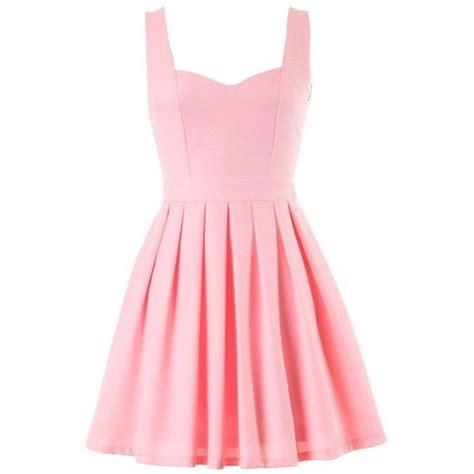 light pink skater dress light pink cutout skater dress found on polyvore