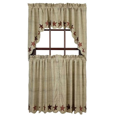 36 x 36 curtains abilene star window curtain swag 36 quot x 36 quot x 16 quot