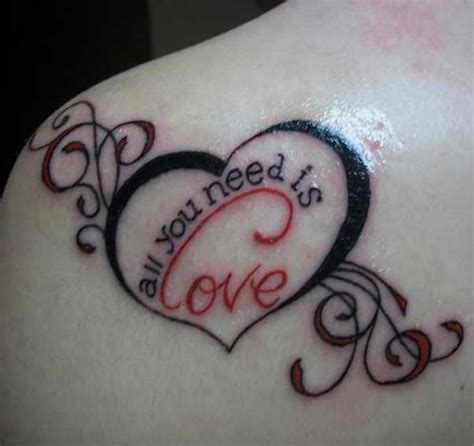 quotes about love tattoo ideas 15 love quotes designs pictures and images ideas