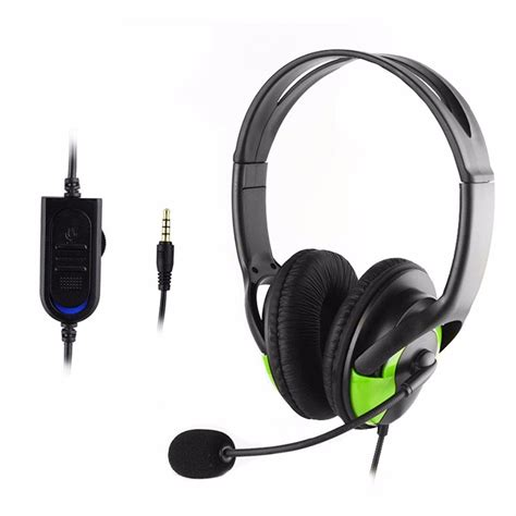 Headset Earphone deluxe headset headphone with microphone volume for xbox one ps4 int ebay