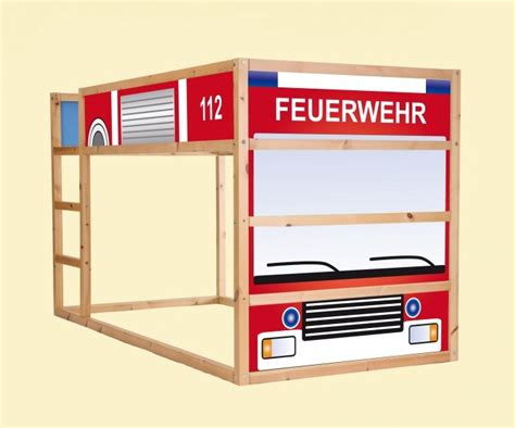 Aufkleber Feuerwehr Kinder by Aufkleber F 252 R Das Hochbett Ikea Kura Quot Feuerwehrauto