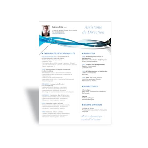 resume format modele cv gratuit a telecharger mac