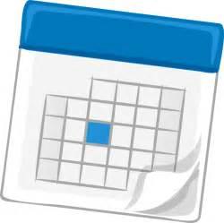 calendar clipart clipart calendar blue