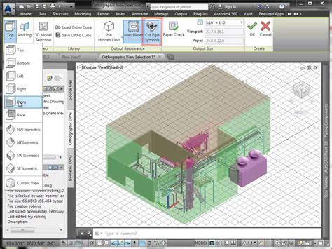 Autoplant 3d by Orthos In Autocad Plant 3d Part 1