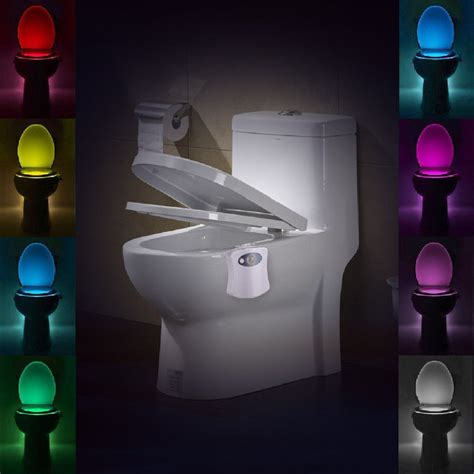toilet light body automatic led motion sensor night l toilet bowl