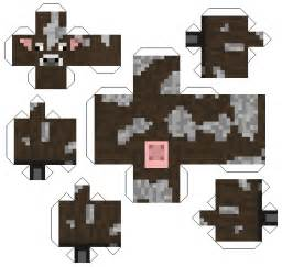 Paper Craft Furniture - craft furniture 6 minecraft papercraft cow 23806