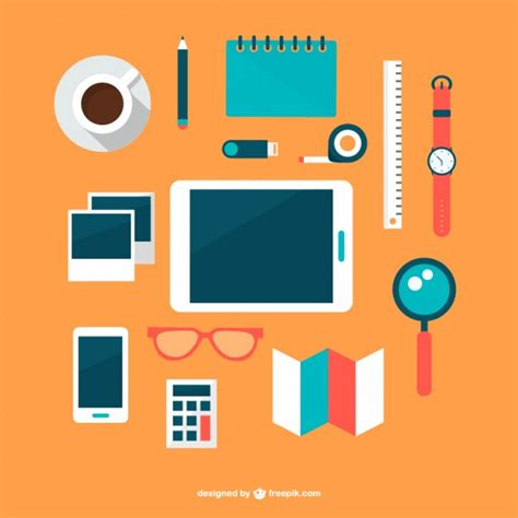 office flat designs free vector 123freevectors