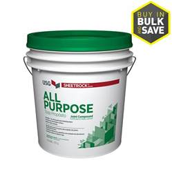Lowes Drywall Tape Shop Sheetrock Brand 4 5 Gallon Premixed All Purpose