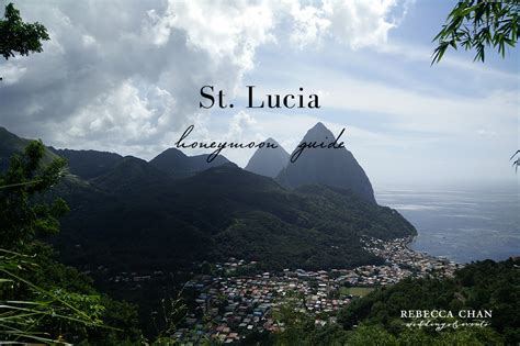 st lucia the official travel guide books honeymoon travel guide st lucia a caribbean