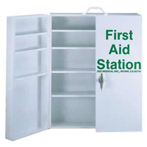 large first aid cabinet first aid cabinets and kits