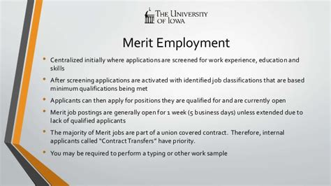 Merit Background Check Employment At The Of Iowa