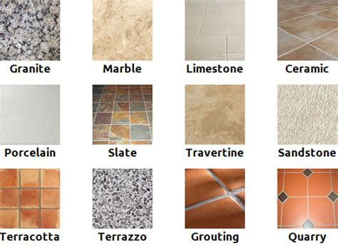 different types of bathroom tiles floor tiles floor what is the best type of kitchen floor