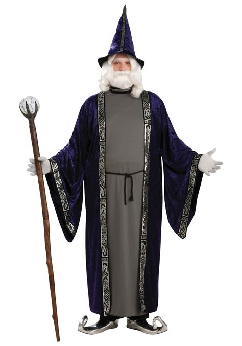 Purple Home Decorations by Plus Size Wizard Costume