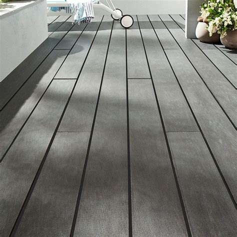 Lame Terrasse Composite Castorama 4169 by Lame De Terrasse Composite Anthracite Blooma Nods L 240 X
