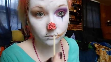 zombie clown tutorial zombie clown makeup tutorial halloween youtube
