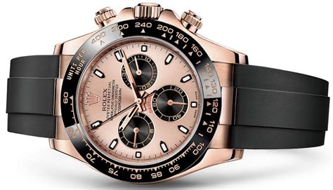 Rubber Web Watches You While You Work by New Rolex Cosmograph Daytona Watches In Gold With