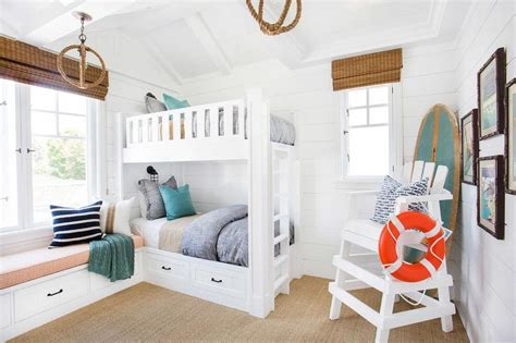 built in bunk beds cottage boy s room hickman design built in steps between bunk beds cottage boy s room