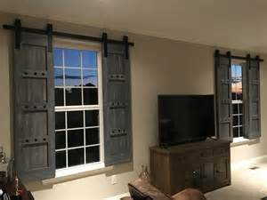 Barn Door Window Shutters Interior Window Barn Door Sliding Shutters Barn Door