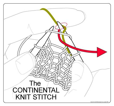 how do i add a stitch in knitting techknitting the continental knit stitch
