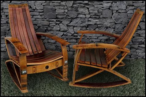 Wine Barrel Chair Plans by Wine Barrel Adirondack Chair Plans Free Woodworking