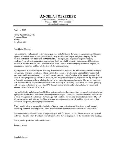 executive cover letter exles ceo executive cover letter exles resume badak