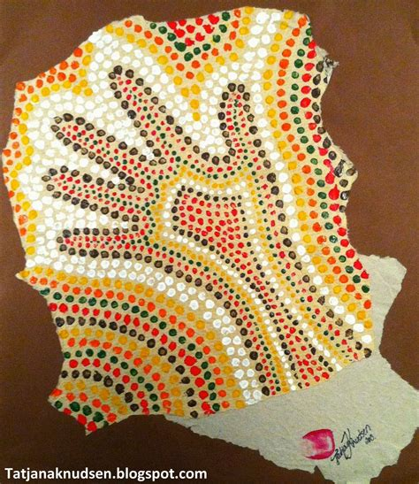 Aboriginal Dot Painting For From Other
