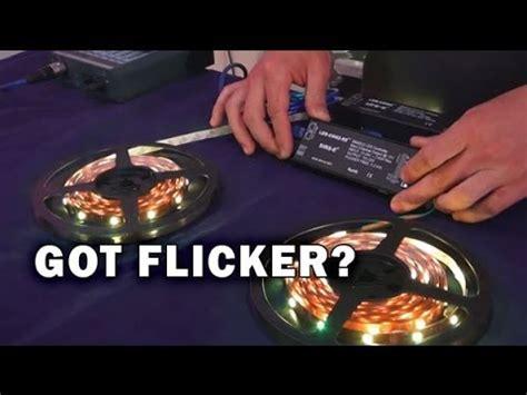12v led lights flickering problem led flickering in recording sirs e
