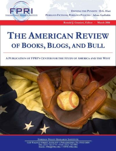 blood profits how american consumers unwittingly fund terrorists books announcing the american review of books blogs and bull